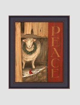 Terri Palmer Sheep Peace by Terri Palmer