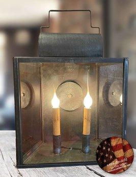 Nana's Farmhouse Lea Two Light Lantern