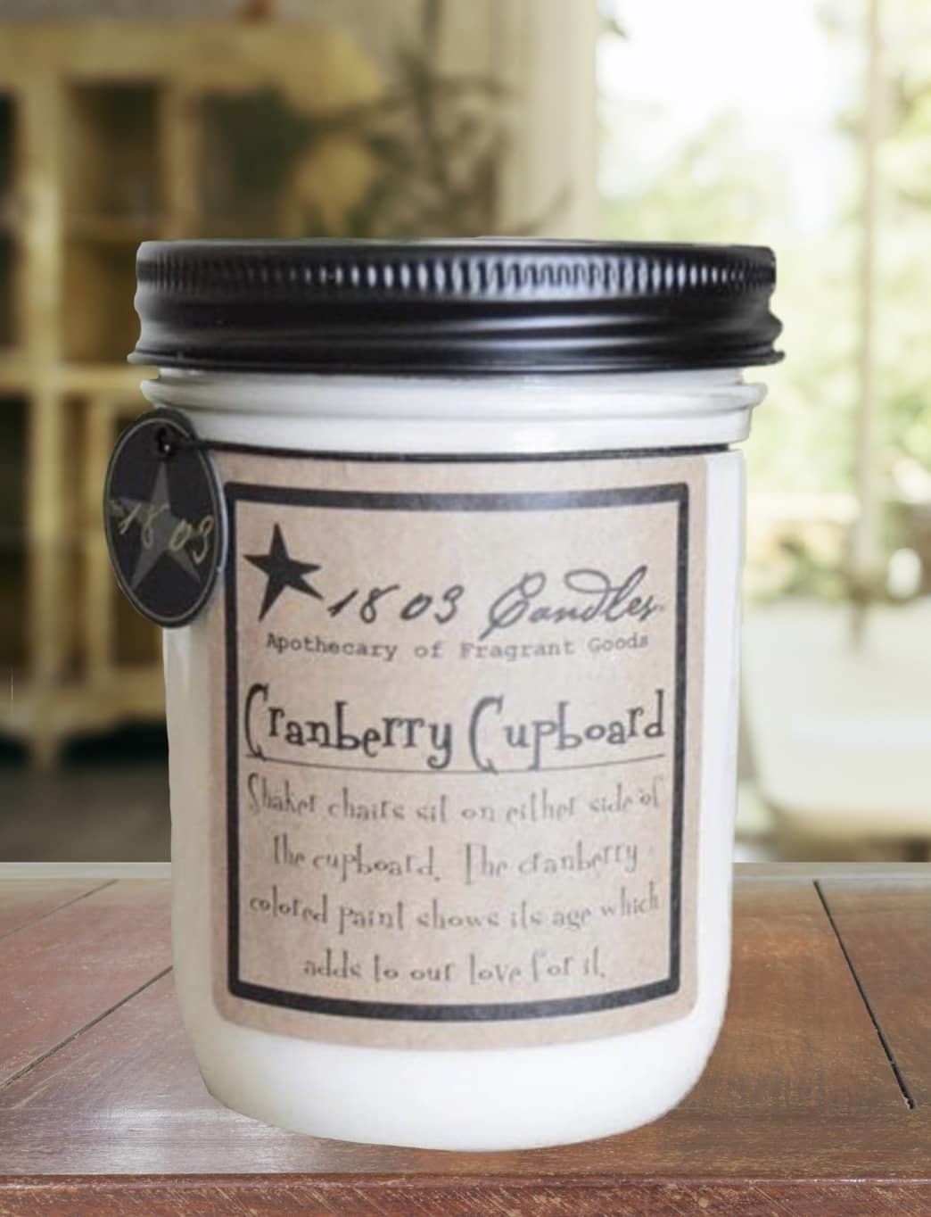 1803 Candles 1803 Cranberry Cupboard Candle