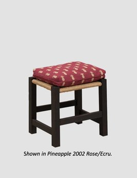 """Town & Country Furnishings Center Inn Footstool - 18"""""""