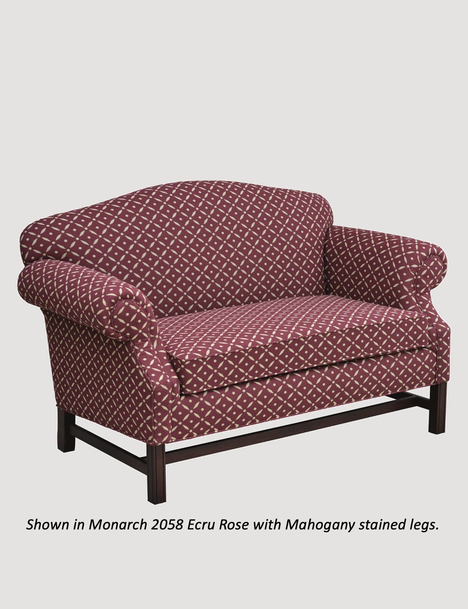 """Town & Country Furnishings Boone Trail Loveseat - 58"""""""