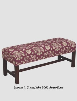 """Town & Country Furnishings American Country Bench - 44"""""""