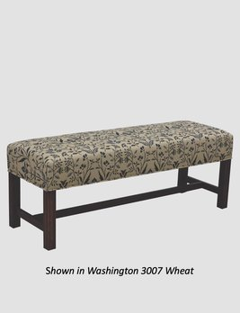 """Town & Country Furnishings American Country Bench - 48"""""""