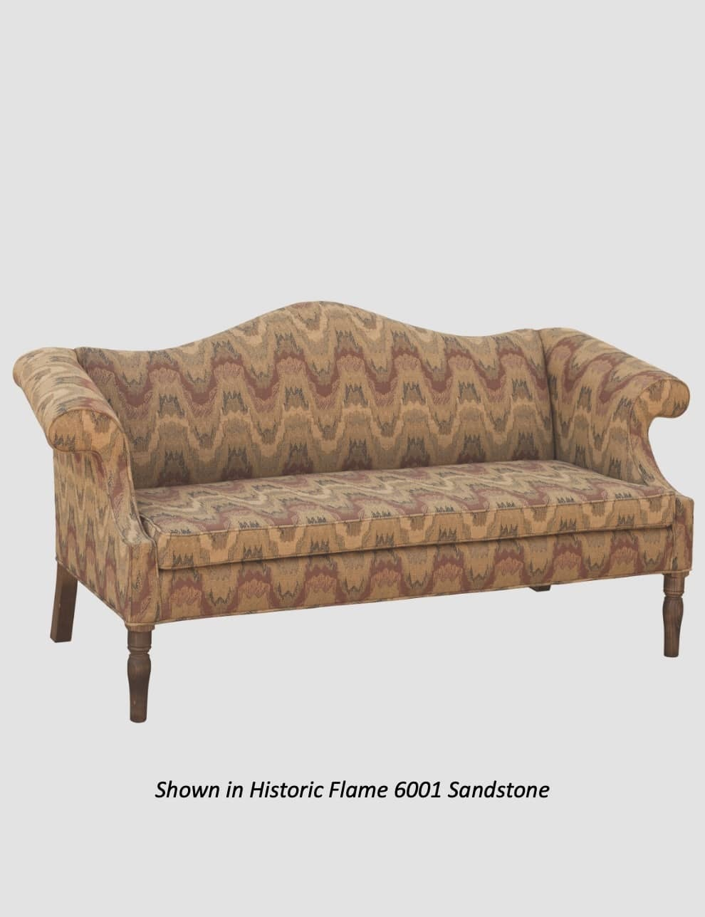 """Town & Country Furnishings Coventry Camelback Sofa - 72"""""""