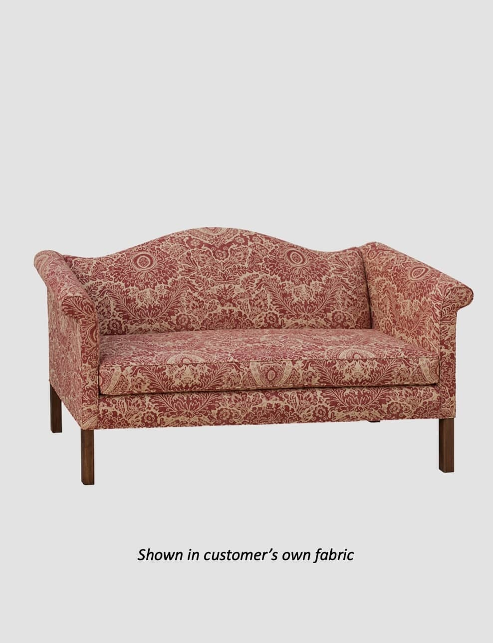 Town & Country Furnishings Chippendale Sofa from the American Primitive Collection