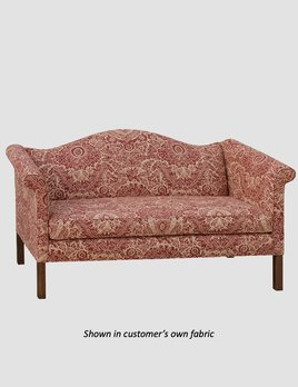 """Town & Country Furnishings Chippendale Sofa - 76"""""""