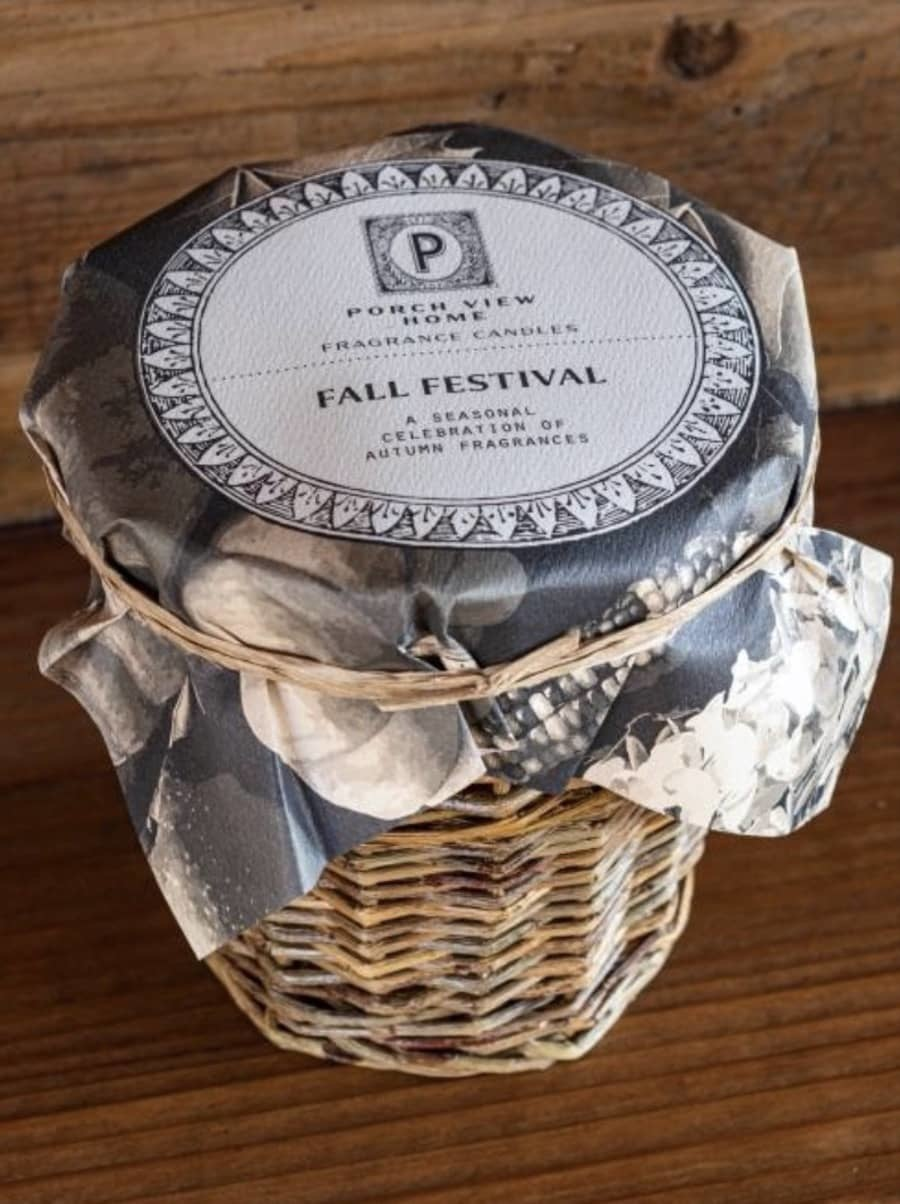 Porch View Home Fall Festival Fragrance Jar Candle