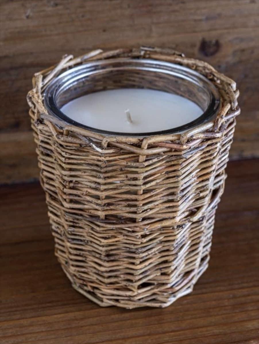 Porch View Home Vintage Pumpkin Fragrance  Jar Candle