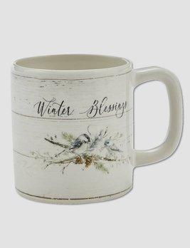 Nana's Farmhouse Winter Blessings Mug