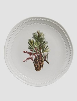 Nana's Farmhouse Pinecone Plate