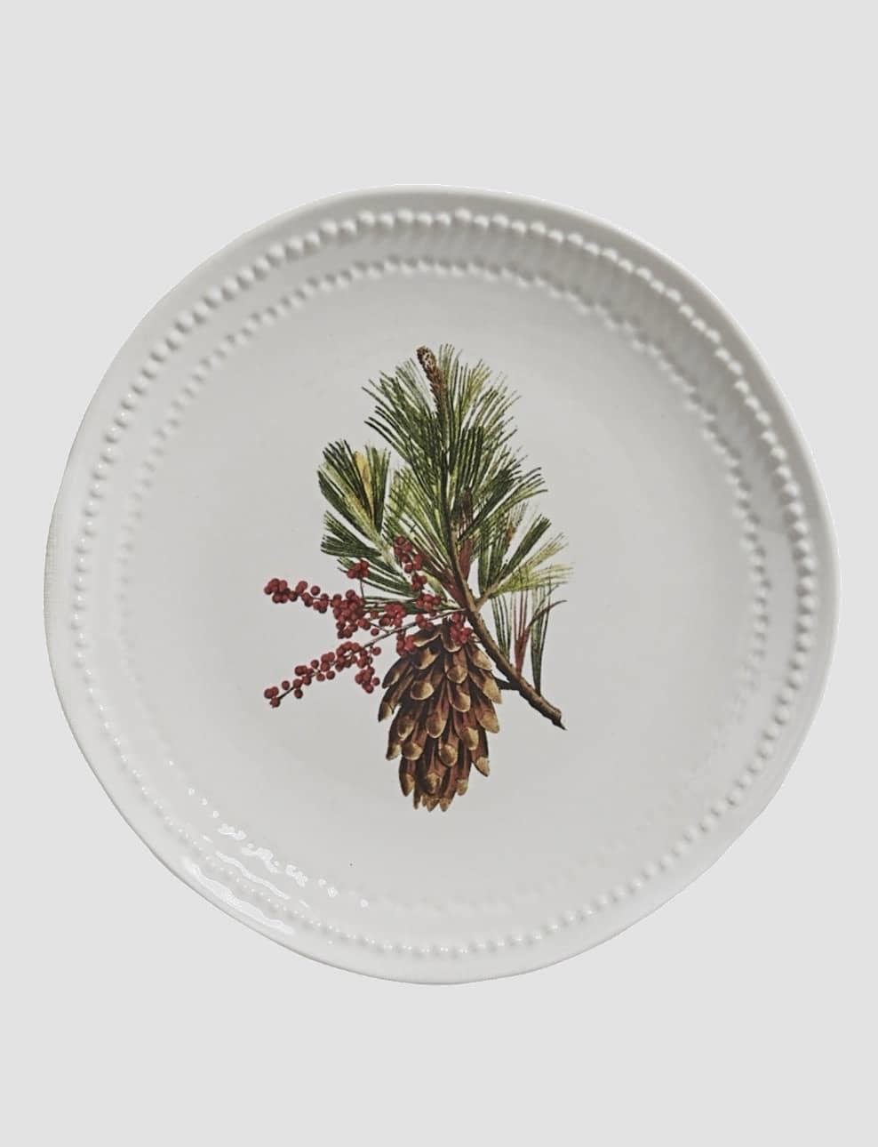 "Nana's Farmhouse Pinecone Plate - 8.25"""