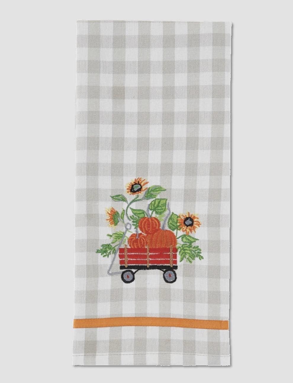 """Park Designs Truckloads of Fun Wagon Dishtowel - 18"""" x 28"""""""