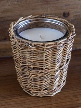 Porch View Home Winter Cabin Fragrance Jar Candle