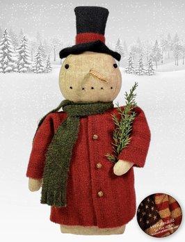 Nana's Farmhouse Snowman in Top Hat