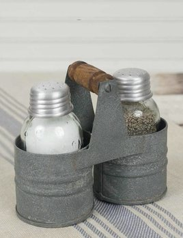 CTW Home Collection Barn Roof Salt and Pepper Can Caddy