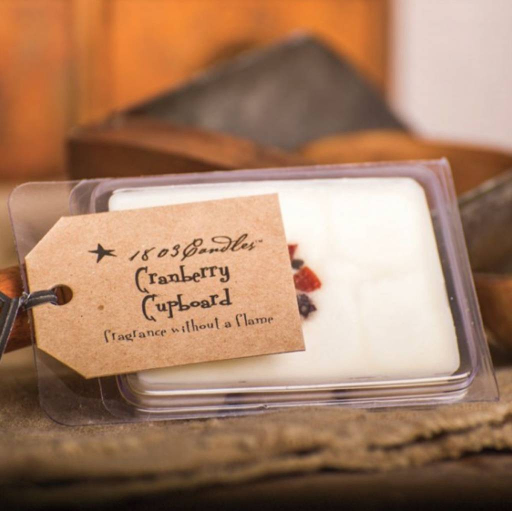 1803 Candles 1803 Cranberry Cupboard Melter