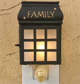 Park Designs Family Lantern Night Light