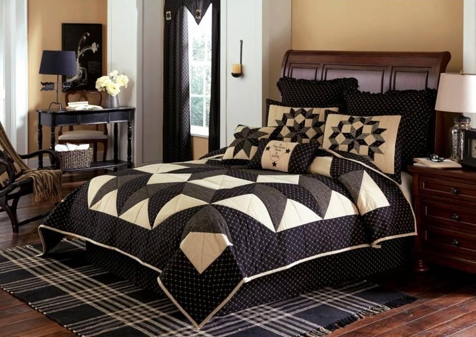 Park Designs Carrington Bedding Collection - Black