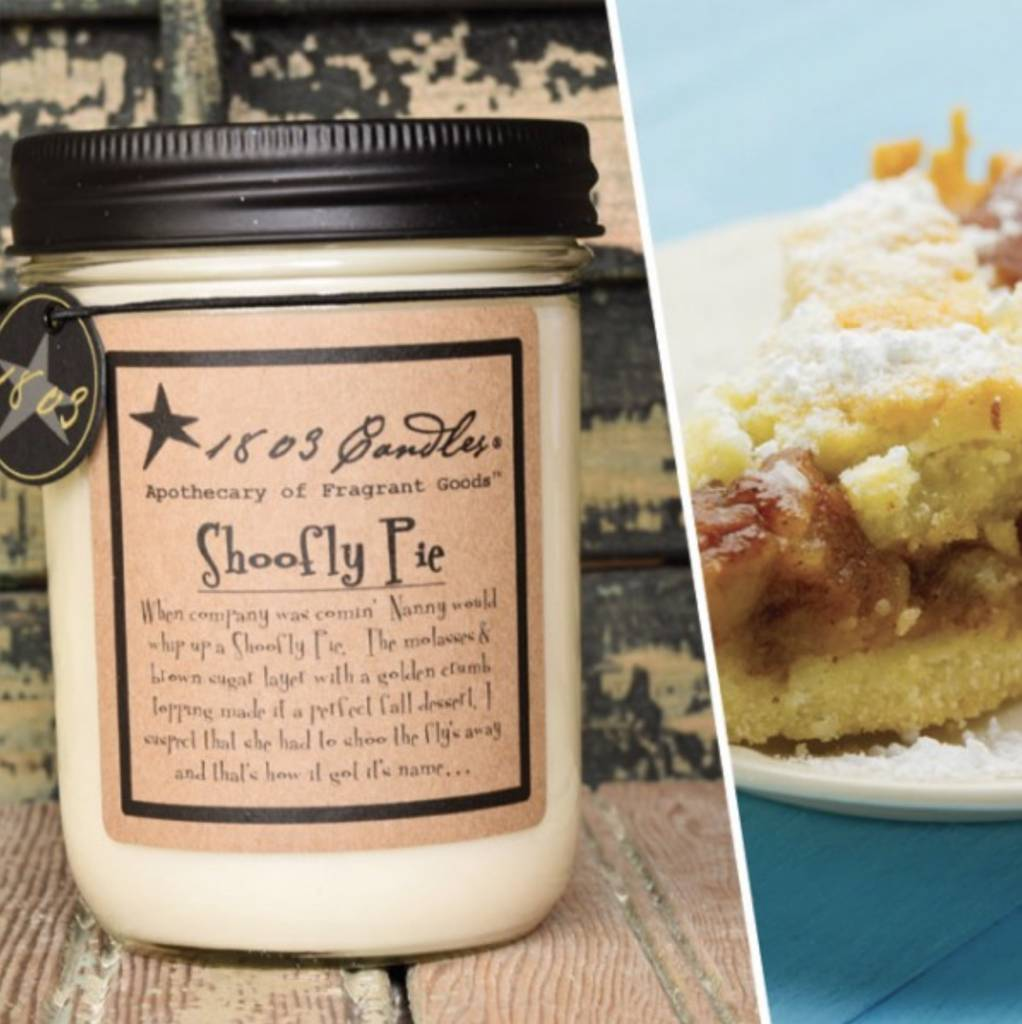 1803 Candles 1803 Candle Shoofly Pie 14oz