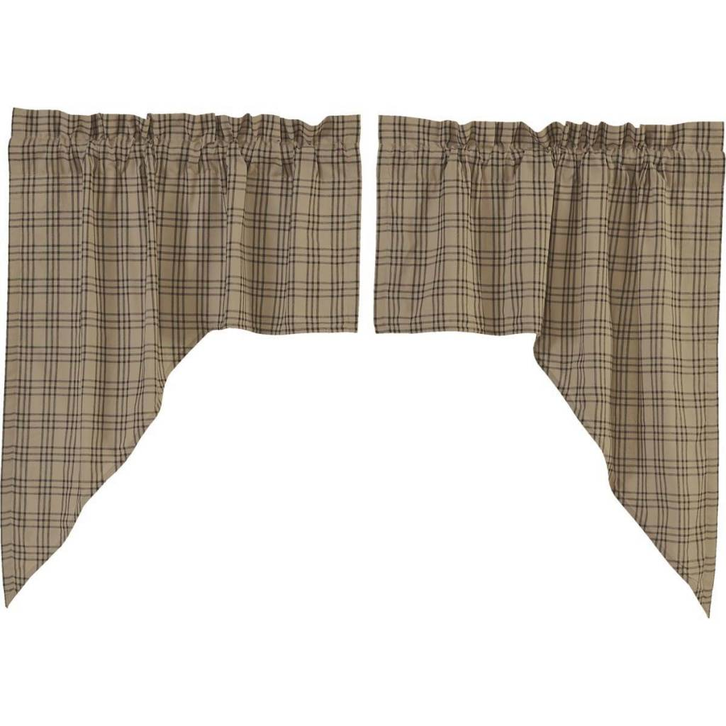 VHC Brands Sawyer Mill Swag Set of 2