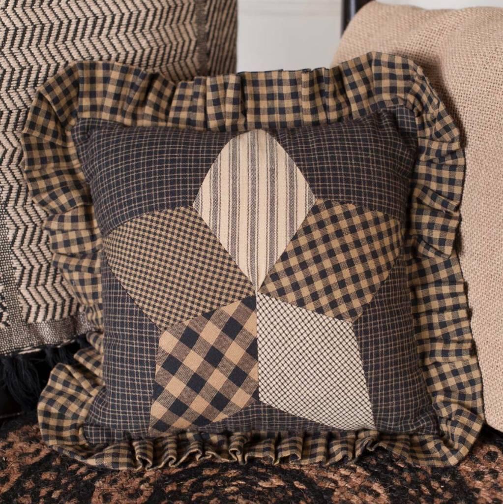 VHC Brands Farmhouse Star Pillow