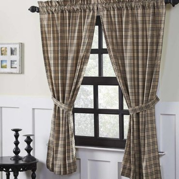 Sawyer Mill Charcoal Curtains
