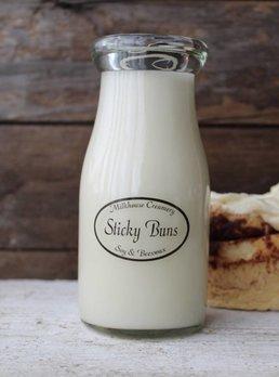 Milkhouse Candles Sticky Buns 8 oz. Milk Bottle