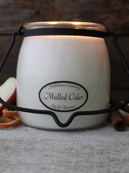 Milkhouse Candles Mulled Cider 16oz Butter Jar
