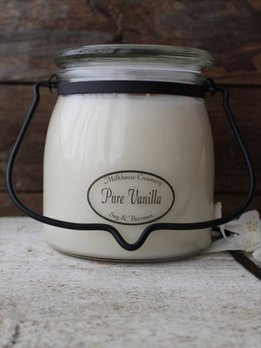 Milkhouse Candles Pure Vanilla 16 oz. Butter Jar