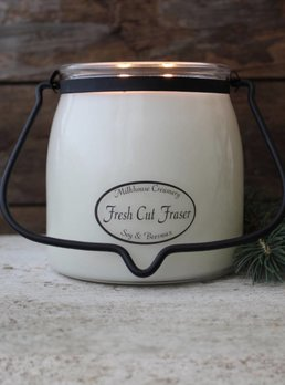 Milkhouse Candles Fresh Cut Fraser 16oz Butter Jar