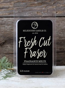 Milkhouse Candles Fresh Cut Fraser 2.5oz Melt Milkhouse