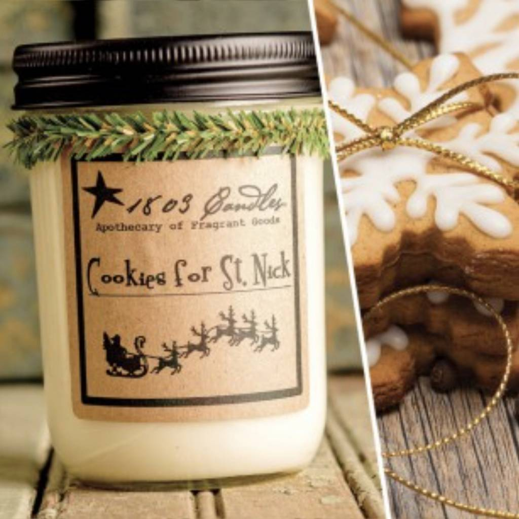 1803 Candles 1803 Candle Cookies For St. Nick 14oz