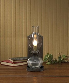 Park Designs Pressed Back Oil Lamp