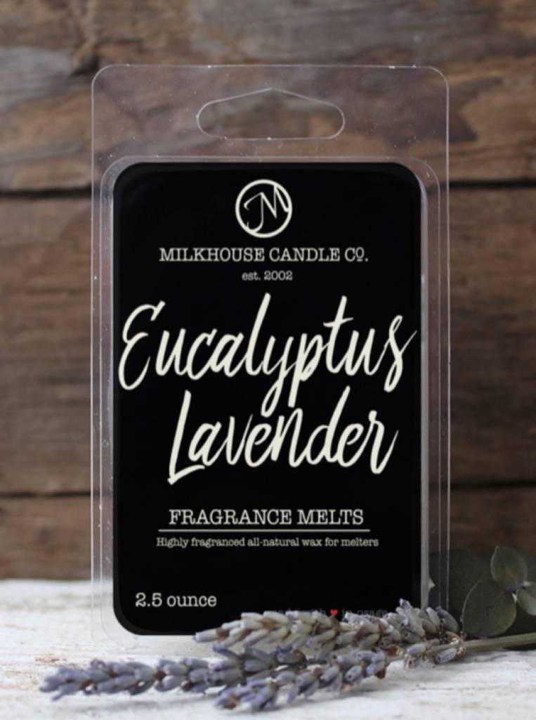 Milkhouse Candles Milkhouse Melt Eucalyptus Lavender 2.5oz