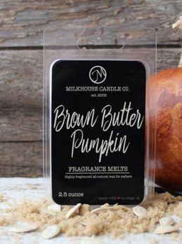 Milkhouse Candles Brown Butter Pumpkin 2.5oz Melt Milkhouse