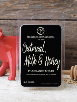 Milkhouse Candles Oatmeal Milk & Honey 2.5oz Melt Milkhouse