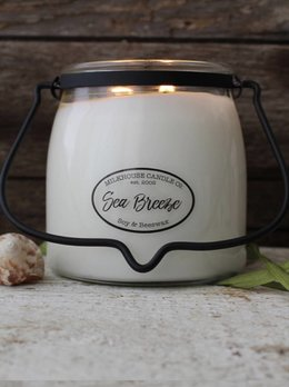 Milkhouse Candles Sea Breeze 16oz Butter Jar
