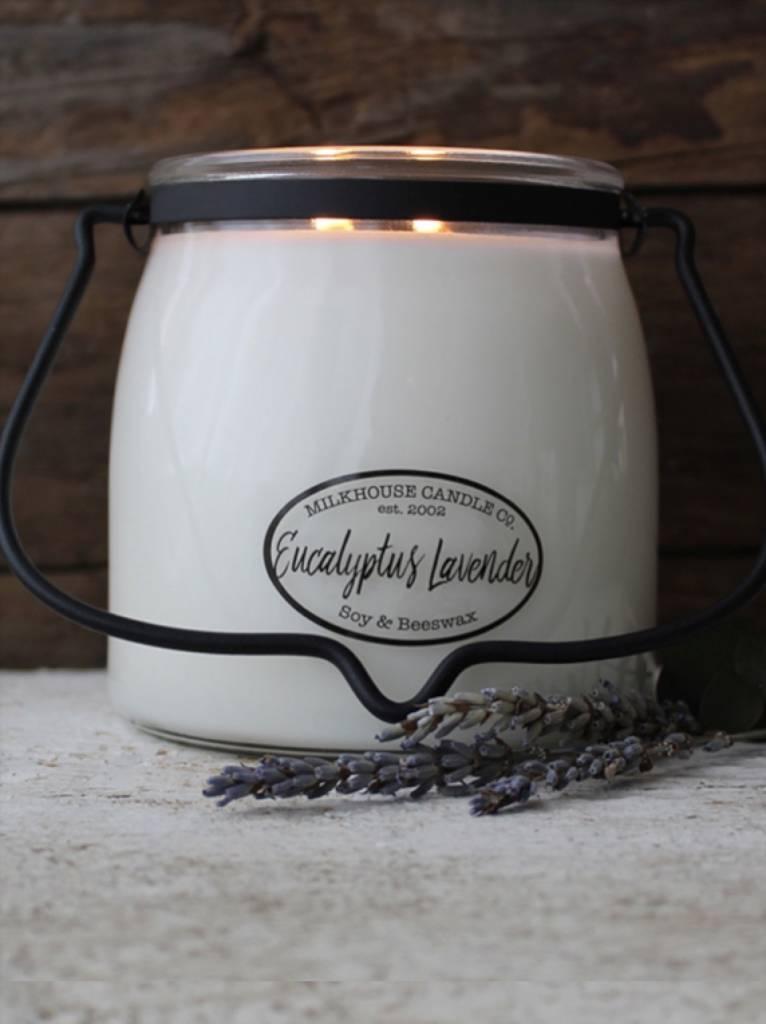 Milkhouse Candles Milkhouse Candle Eucalyptus Lavender 16oz Butter Jar