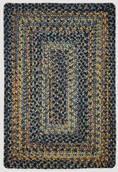 Homespice Decor Black Forest Ultra Durable Braided Rugs