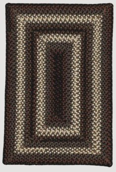 Homespice Decor Montgomery Ultra Durable Braided Rugs