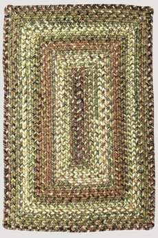 Homespice Decor Rainforest Ultra Durable Braided Rug