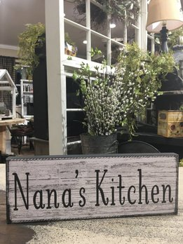 Nana's Kitchen Block Sign