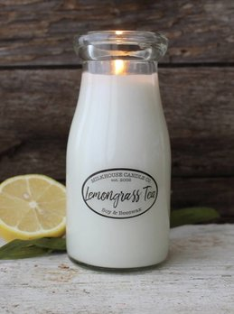 Milkhouse Candles Lemongrass Tea 8oz Milkhouse