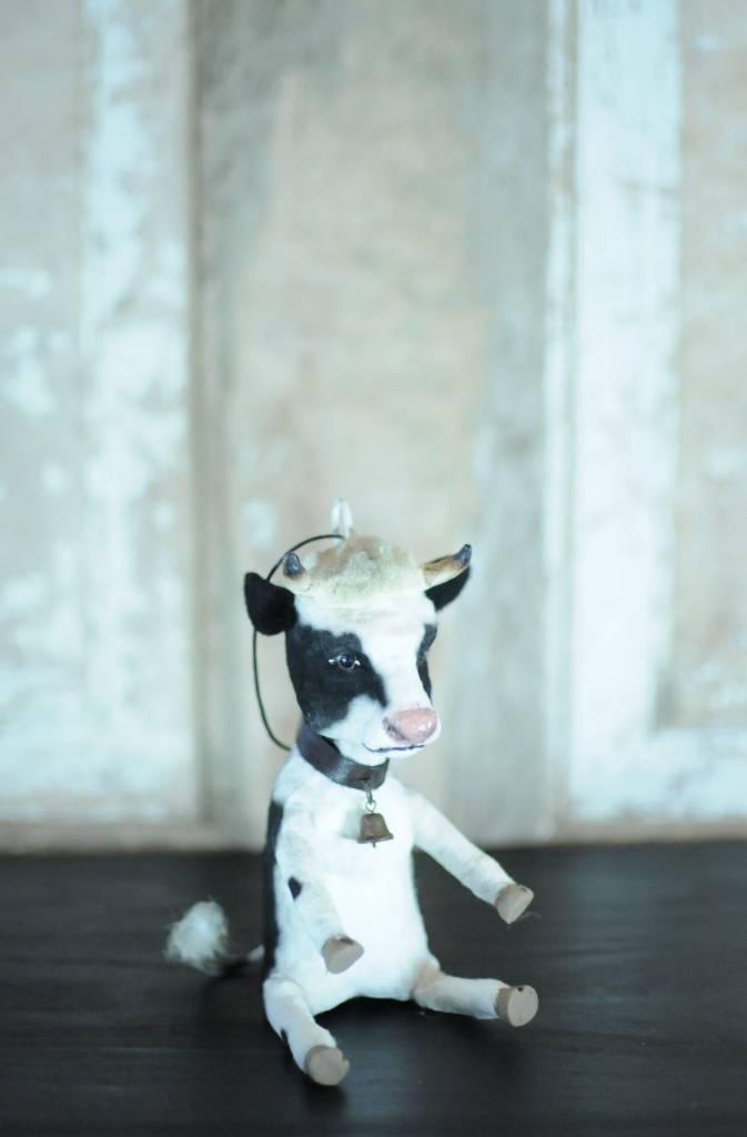 C Yenke Co Cow Handmade Ornament