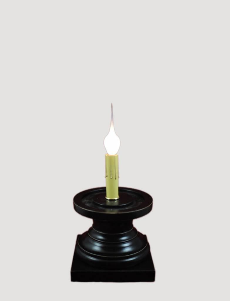 Jefferson Antique Black Pedestal - Small
