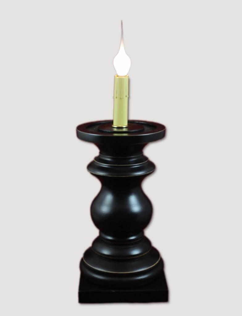 Jefferson Antique Black Pedestal - Medium