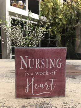 Nanas Farmhouse Nursing Is A Work Of Heart Block Sign