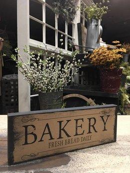 Nanas Farmhouse Bakery Block Sign