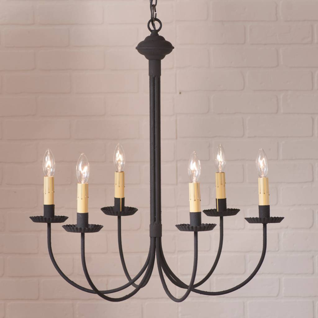 Irvin's Tinware Grandview Chandelier 6-Arm