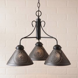 Irvin's Tinware Barrington Chandelier